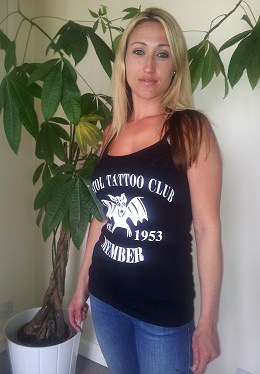 Bristol Tattoo Club Ladies Vest