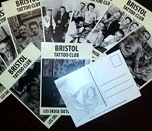 Bristol Tattoo Club Set Of Ten Postcards